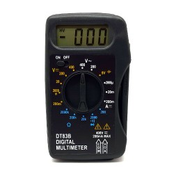 Πολύμετρο Ψηφιακό Τσέπης DT-83B - Eurolamp