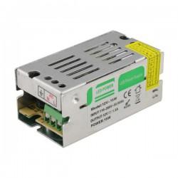 10W Τροφοδοτικό LED 12V DC 10W IP20 Eurolamp
