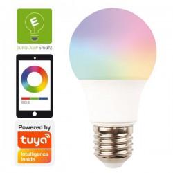 Λάμπα LED SMART WIFI 9W E27 RGBW 220-240V TUYA - Eurolamp