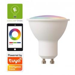 Λάμπα LED SMART WIFI GU10 6W RGBW 220-240V TUYA - Eurolamp