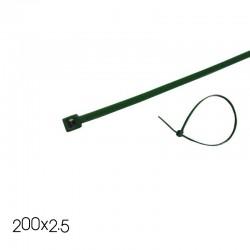 Δεματικά Καλωδίων 200X2.5 Πράσινα Eurolamp