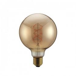 """Λάμπα LED G95 Filament """"Decor"""" 5W E27 2000K 220-240V DIMMABLE GOLD Eurolamp"""
