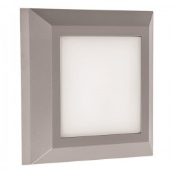 Wall Mounted LED Slim Fixture 3W IP65 230V 125X125MM In Various Color Eurolamp