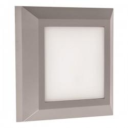 LED Φωτιστικό Τοίχου Slim Σε Διάφορα Χρώματα 3W IP65 230V 125X125MM Eurolamp