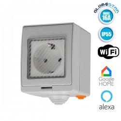 SONOFF S55 Wi-Fi Smart Waterproof Socket IP55