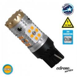 Λαμπτήρας LED Extreme Series Can-Bus 3ης Γενιάς με βάση T20 7440 24W 12v Πορτοκαλί για Φλας GloboStar