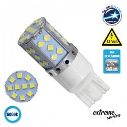 Λαμπτήρας LED Extreme Series Can-Bus 2ης Γενιάς με βάση T20 7443 15W 12v Ψυχρό Λευκό 6000k GloboStar