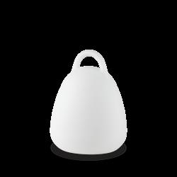 LED Φωτιστικό Φορητό Εξωτερικού Χώρου Λευκό 2.5W IP65 LIVE PT CAMPANA - IDEAL LUX