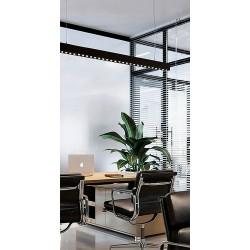 LED Pendant Lamp From Aluminum In Black Shade InLight