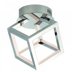 LED Ceiling Light Aluminium in Chrome Color 20W - InLight