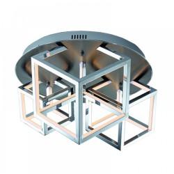 LED Ceiling Light Aluminium in Chrome Color 80W - InLight