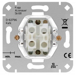 Διακόπτης Διπλός Ρολών Σε Διάφορα Χρώματα 10A 250V HK02 - Kopp