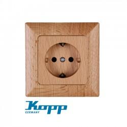 Earthed Socket Outlet, 1-fold, 16A, 250V HK02 - KOPP