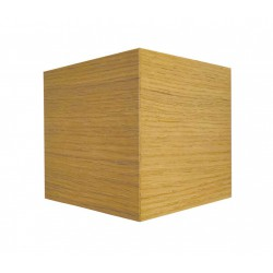 Led Wall Light From OAK - WALNUT Wood 6.8W IP54 Up-Down Beam LUCIDO