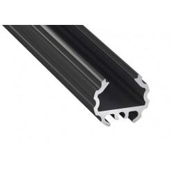 Aluminum Profile EL MICO Black - LUMINES