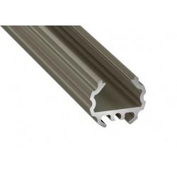 Aluminum Profile EL MICO INOX - LUMINES