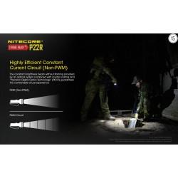 Επαγγελματικός LED NITECORE P22R, +NL1835HP