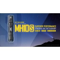 Flashlight LED NITECORE MULTI TASK HYBRID MH10S,1800lumens