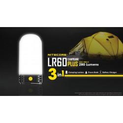 FLASHLIGHT LED NITECORE L series LR60, 3-in-1 Campbank Plus