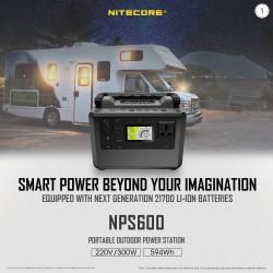 POWER STATION NITECORE NPS600, 165000mAh