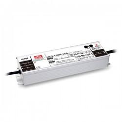 Αδιάβροχο 150W LED Πλαστικό Τροφοδοτικό Σταθερής Τάσης 12V 12.5A IP67 MeanWell
