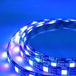 LED Ταινία SMD5050 Με Μπαταρία - 7.2W Blue 5V, 3xAA