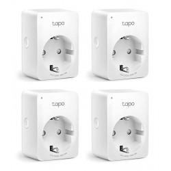 Smart Αντάπτορας Ρεύματος TAPO-P100 Wi-Fi 4τμχ - TP-LINK