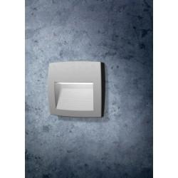 Απλίκα Εξωτερικού Χώρου Slim Σε Γκρι Χρώμα LED 1 X 4W R7S IP55 - Lorenza FUMAGALLI
