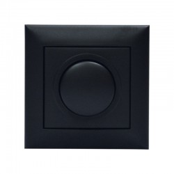 LED 200W DIMMER Χωνευτό Σε Μαύρο Χρώμα - Magic Electronic