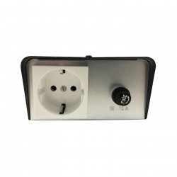 SOCKET MULTI 2200W DIMMER Πρίζας- Magic Electronic