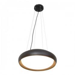 LED Φωτιστικό Οροφής Μεταλλικό Μαύρο 52W D45cm - SpotLight