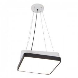LED Φωτιστικό Οροφής Μεταλλικό Τετράγωνο Μαύρο 60W - SpotLight