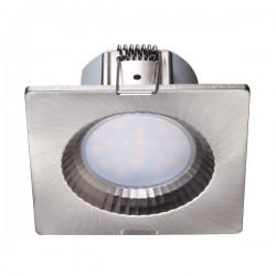 LED Χωνευτό Οροφής Στεγανό Σε Δύο Χρώματα Τετράγωνο 5W 450lm 120° IP54 Spotlight