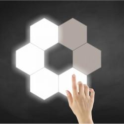 TOUCH SENSITIVE WHITE WALL LED LIGHTS COMBO 6x 1.2W - Spotlight
