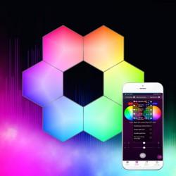 SMART RGB WALL LED LIGHTS COMBO 6x 1.2W - Spotlight