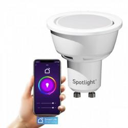 LED lamp GU10 SMART WiFi 5.5W RGB - Spotlight