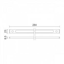 Slim Integrated LED Linear Light 4W 4000K Spotlight