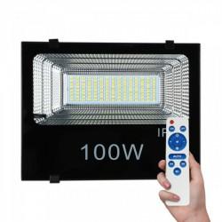 Solar Projector LED SMD 100W 6000K IP65 With Sensor - Spotlight
