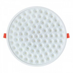Adjustable round white LED Panel 10W - Spotlight