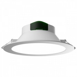 Round LED Panel Recessed Smart 24W CCT IP44 - Spotlight