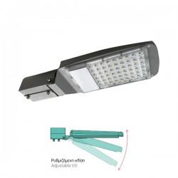 Hight Power LED Φωτιστικό Δρόμου Ρυθμιζόμενο 50W 130° IP65 - SpotLight