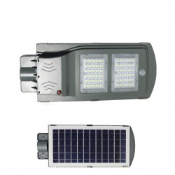High Power LED Solar Φωτιστικό Δρόμου Ηλιακό 40W 120° IP65 - SpotLight