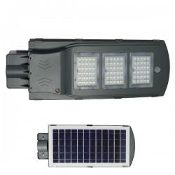 High Power LED Solar Φωτιστικό Δρόμου Ηλιακό 60W 120° IP65 - SpotLight