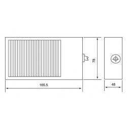Ποδοδιακόπτης Μεταλλικός 10A FS-1 (CFS-1) CNTD - Top Electronic