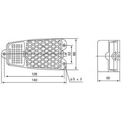 Ποδοδιακόπτης Μεταλλικός 10A FS-2 (CFS-2) CNTD - Top Electronic
