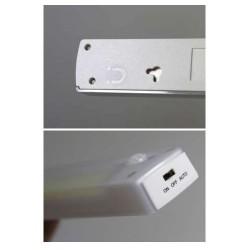 LED Φωτιστικό Ντουλάπας Με Αισθητήρα Φωτός & Κίνησης 3W 3xAAA - Universe