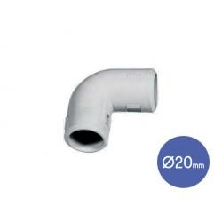 Corner 90° Bends IP40 D20  - Elettrocanali