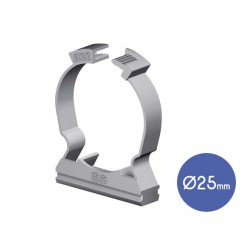 Adjustable Collar Clip D25  - Elettrocanali