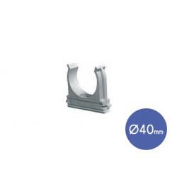 Snap Conduit Clip D40  - Elettrocanali