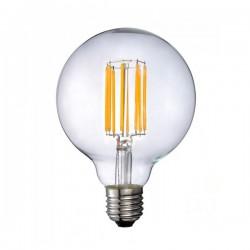 Λάμπα LED E27 G95 Filament 18W Θερμό Λευκό 3000K 2520 Lumens Διάφανο - VTAC